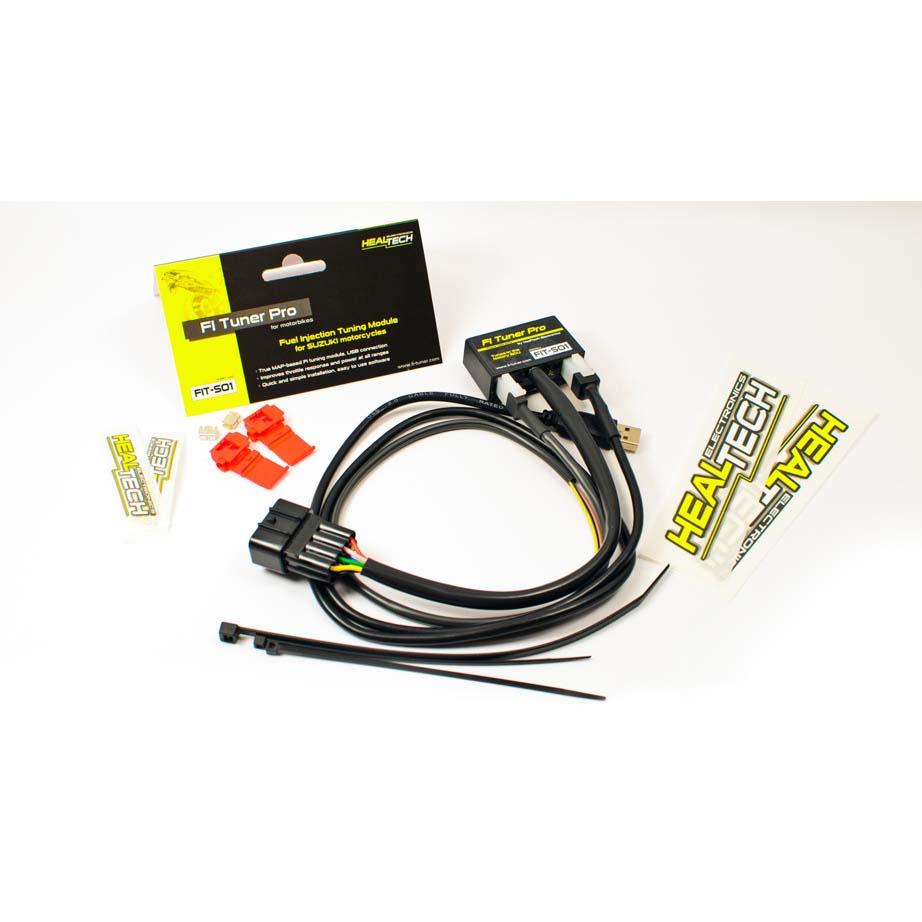 Healtech Fi Tuner Pro Fit S01 Fr Suzuki Gsx R 600 750 1000 2001 Gsxr Wiring Diagram S02 2011 2012