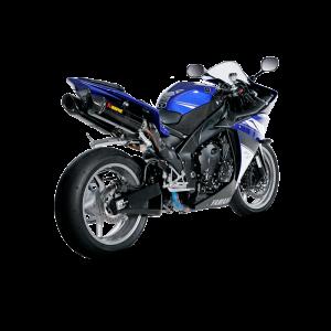 Carbon matt Auspuff Schutz Yamaha R1 YZF-R1 2015 RN32