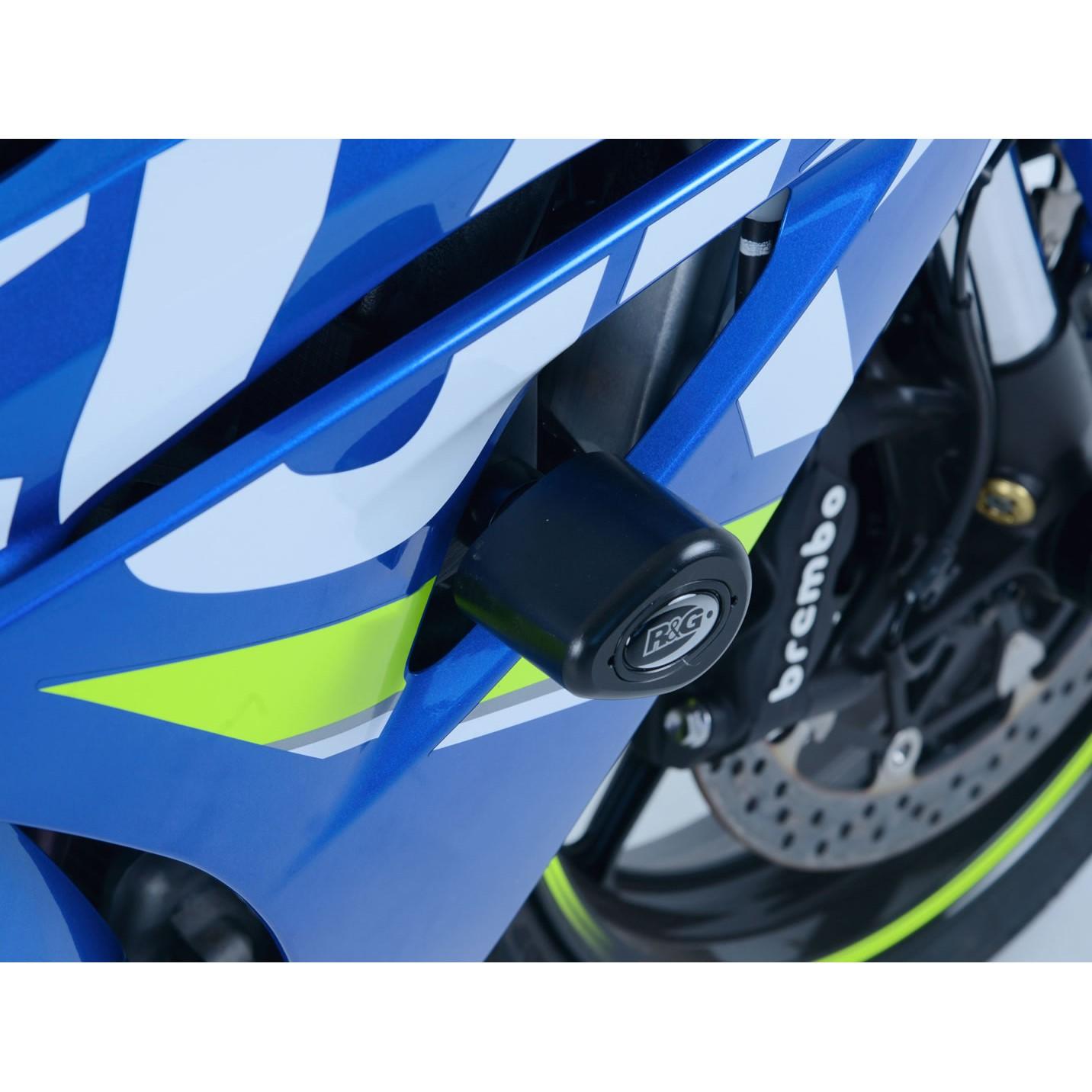 Sturzpads SUZUKI GSX-R 1000 2017- R&G Racing - RENNGRIB