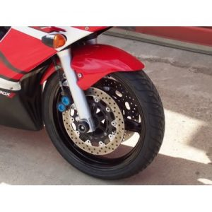 BMW S1000RR 2011 2017 R&G cotton reels paddock stand