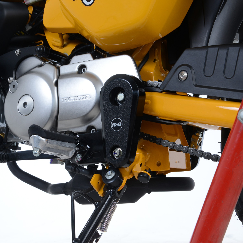 Stiefel Schutz Pads Eazi Grip Honda Monkey 125 2018 2019 Rg Racing