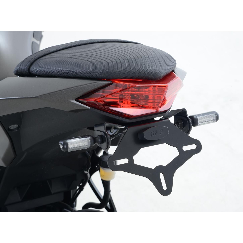 R/&G Racing Kennzeichenhalter passend f/ür Kawasaki ER6/f//n ab 2012