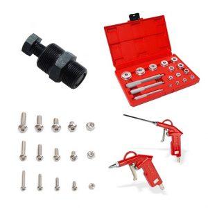 Moped-Werkstatt/Werkzeug